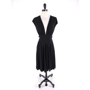 White House Black Market Convertible Low Cut Dress